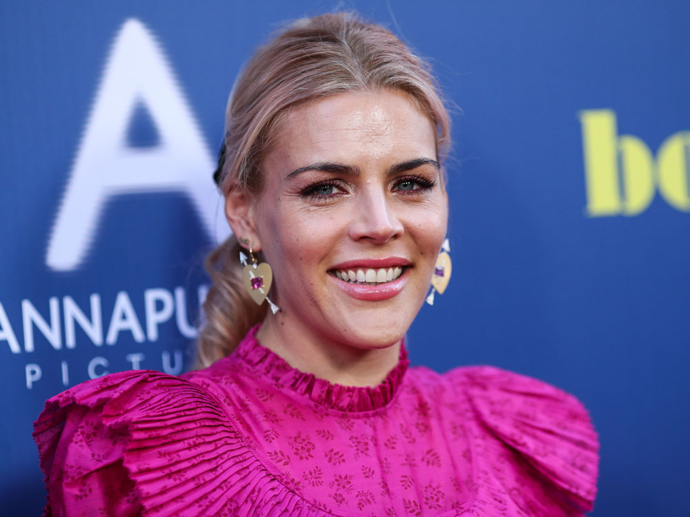 Actress Busy Philipps arrives at the Los Angeles Special Screening Of Annapurna Pictures' 'Booksmart' held at the Ace Hotel on May 13, 2019 in Los Angeles, California, United States. (Photo by Xavier Collin/Image Press Agency)