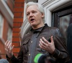 Ecuadorian Embassy where Julian Assange has claimed refuge since 2012