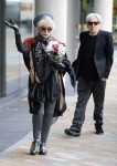 Debbie Harry spotted arriving at the BBC Breakfast Studios