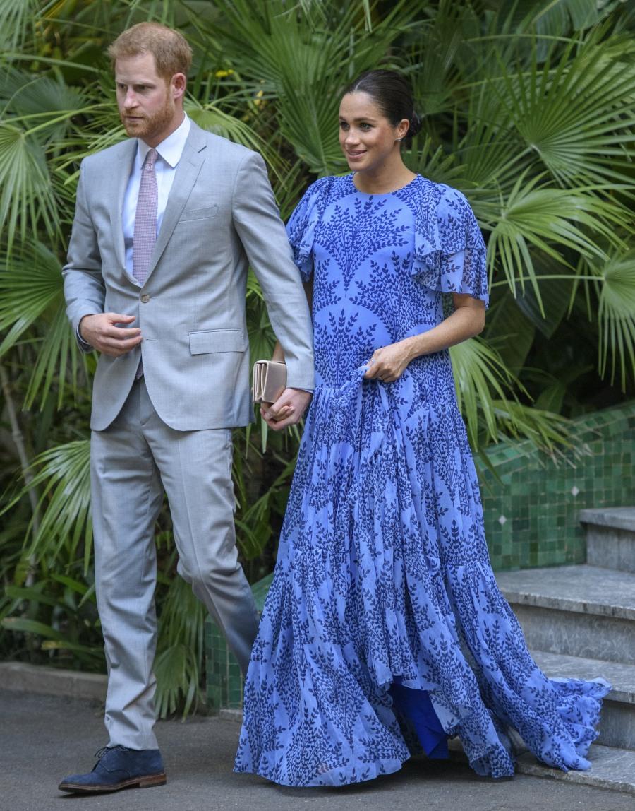 Il duca e la duchessa del Sussex a Rabat