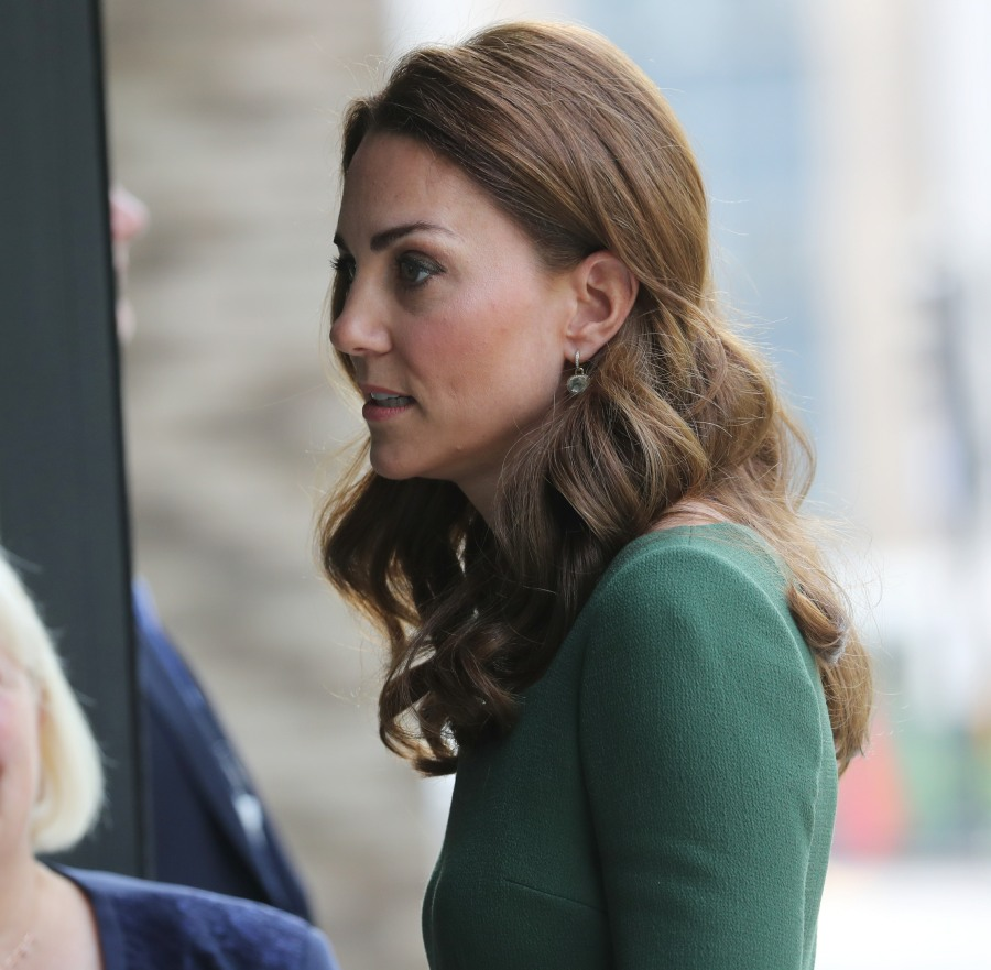 Catherine, Duchess of Cambridge opens the new Centre of Excellence