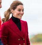 Il Duca e la Duchessa di Cambridge visitano Caernarfon Coastguard Search and Rescue Helicopter Base