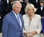 Il principe Carlo e Camilla, la duchessa di Cornovaglia, visitano Max-Joseph-Platz
