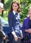 La duchessa di Cambridge visita il parco di Bletchley