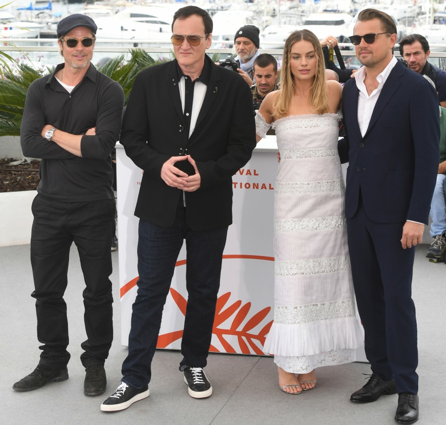 Once upon a time in Hollywood photo call
