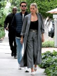 Sofia Richie and Scott Disick go shopping after lunch at Il Pastaio