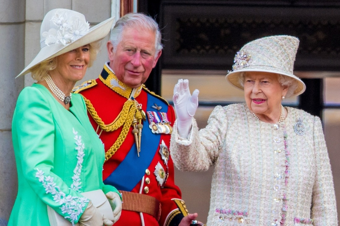 The British Royal Family attends Trooping the Colour Ceremony