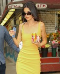 Kendall Jenner stops by a deli on her way to an event at Cafe Clover