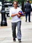 Bradley Cooper arrives early morning to Irina Shayk's New York apartment