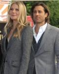 Brad Falchuk, Gwyneth Paltrow at the ind...