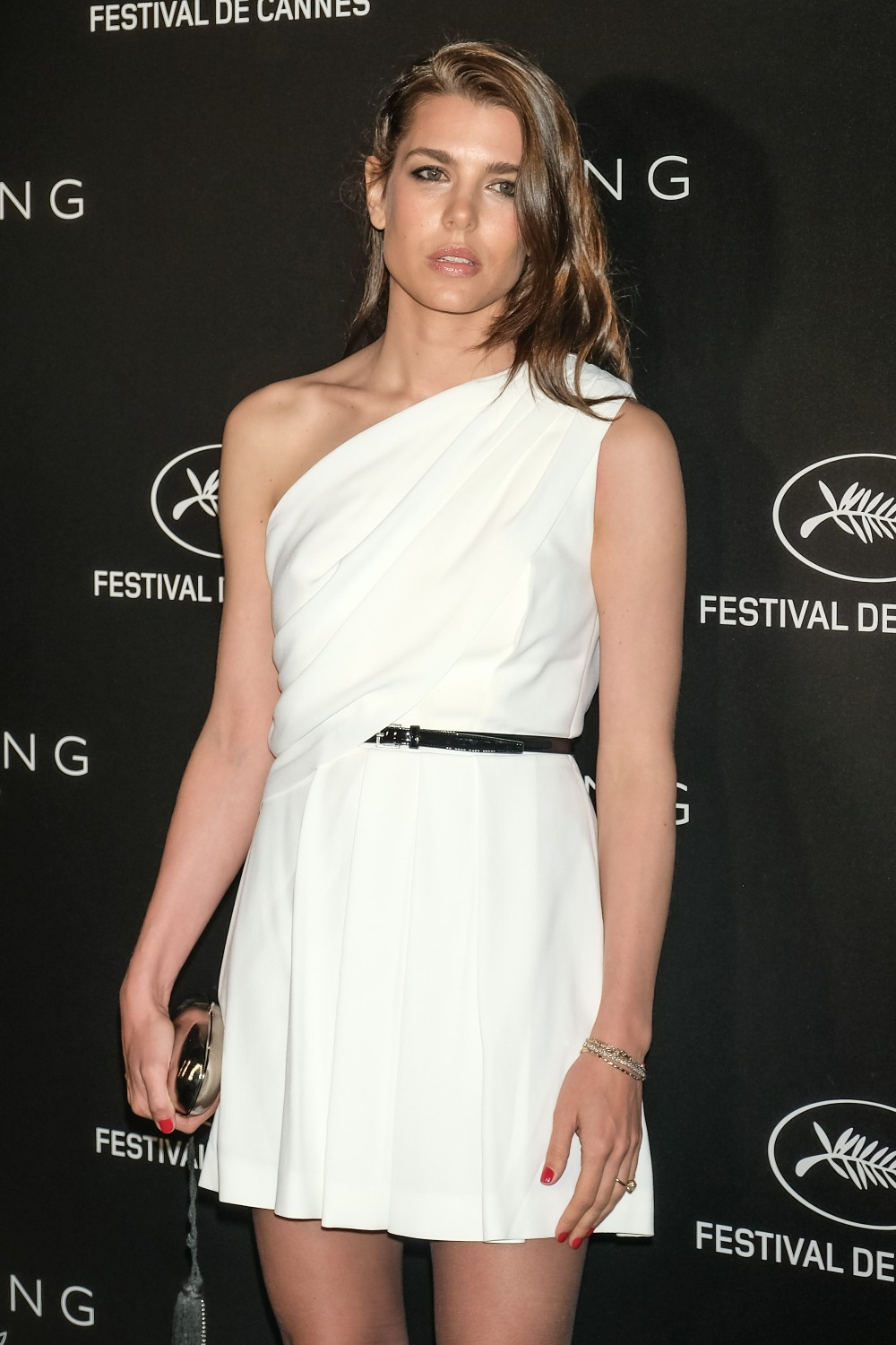Charlotte Casiraghi arrives at the 2019 Kering Women in Motion Awards  on Sunday 19 May 2019 at the 72nd Festival de Cannes