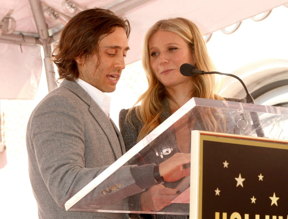 Brad Falchuk, Gwyneth Paltrow at the ind...