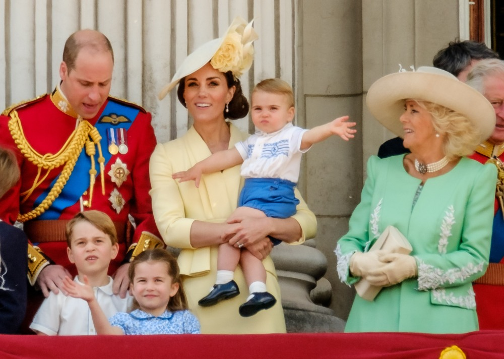 Duchess Kate wore McQueen to Trooping the Colour, brought all three kids