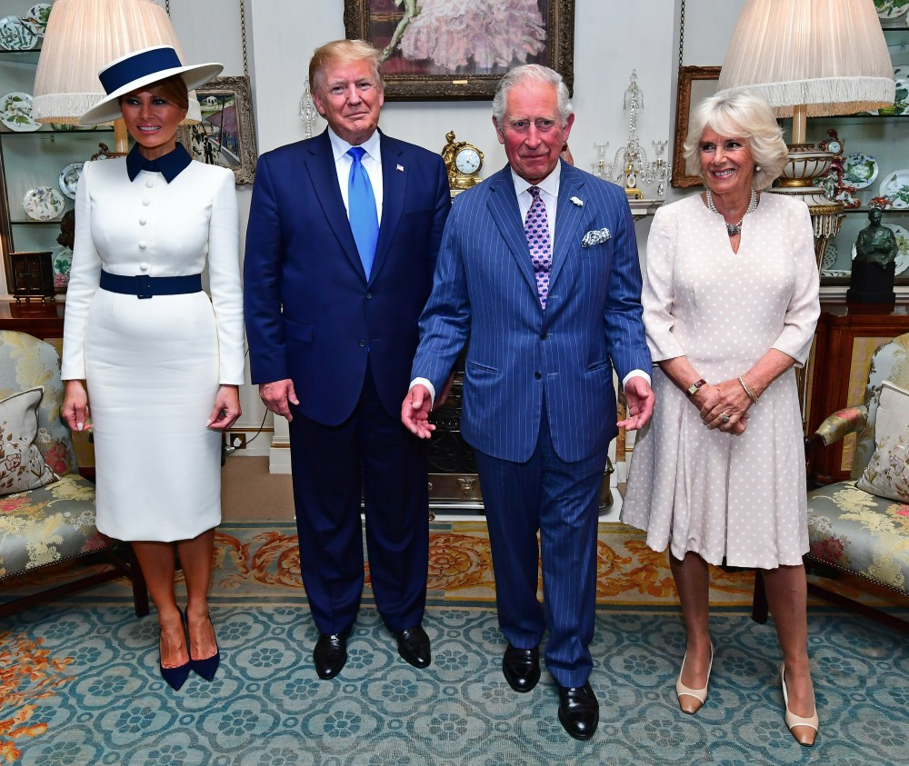 President Trump state visit to UK - Day One