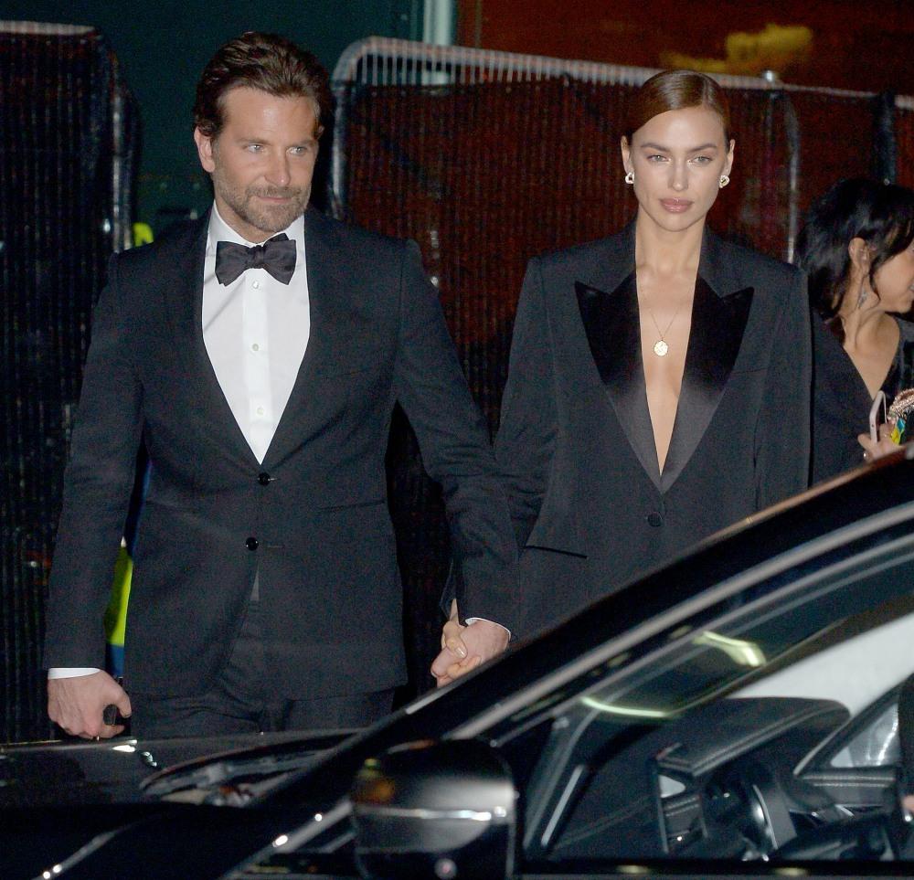 Celebrites seen leaving the BAFTAs