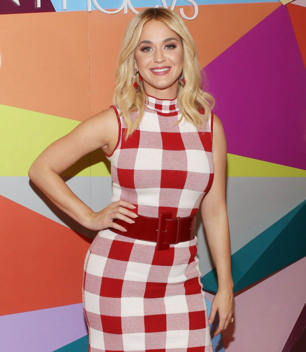 Katy Perry unveils her new shoe collection at Macy's