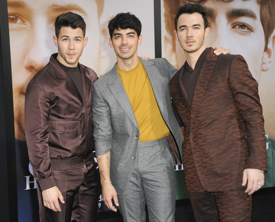 Jonas Brothers Chasing Happiness Premiere