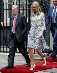 US President Donald Trump and First Lady Melania Trump Arrival at Downing Street