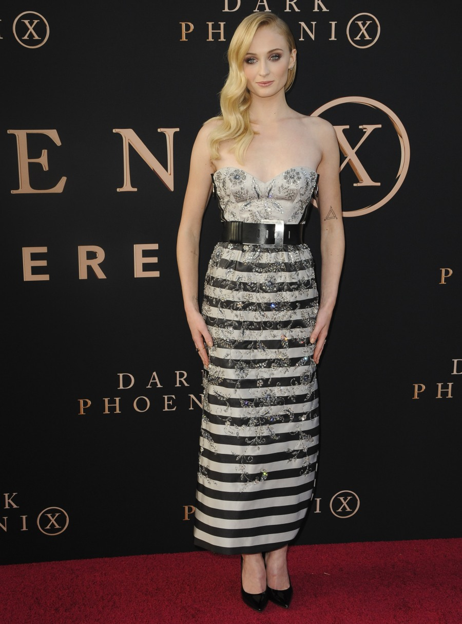 Dark Phoenix premiere, held at Hollywood's TCL Chinese Theatre