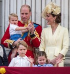 The official birthday of the British Sovereign, The Trooping of the Colour, London, UK.