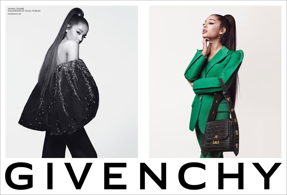 """Ariana Grande for Givenchy Fall 2019″ link"