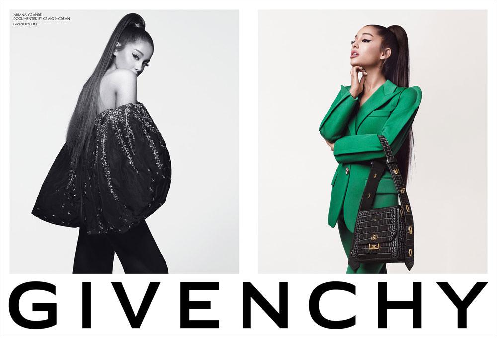 """Ariana Grande for Givenchy Fall 2019″ link"
