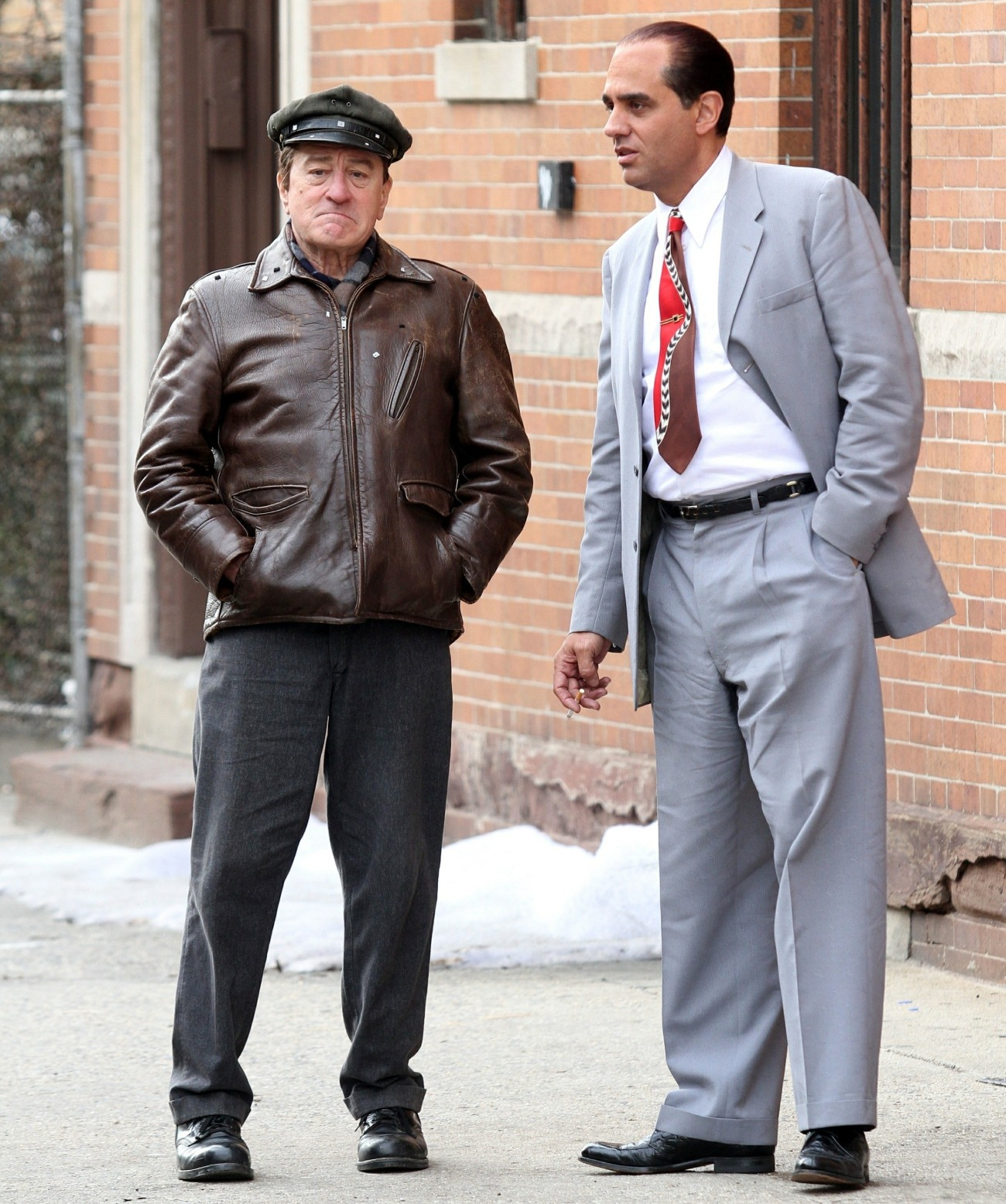 Robert De Niro, Martin Scorsese, and Bobby Cannavale might not be gangsters in real life, but they're bosses in their movie set!