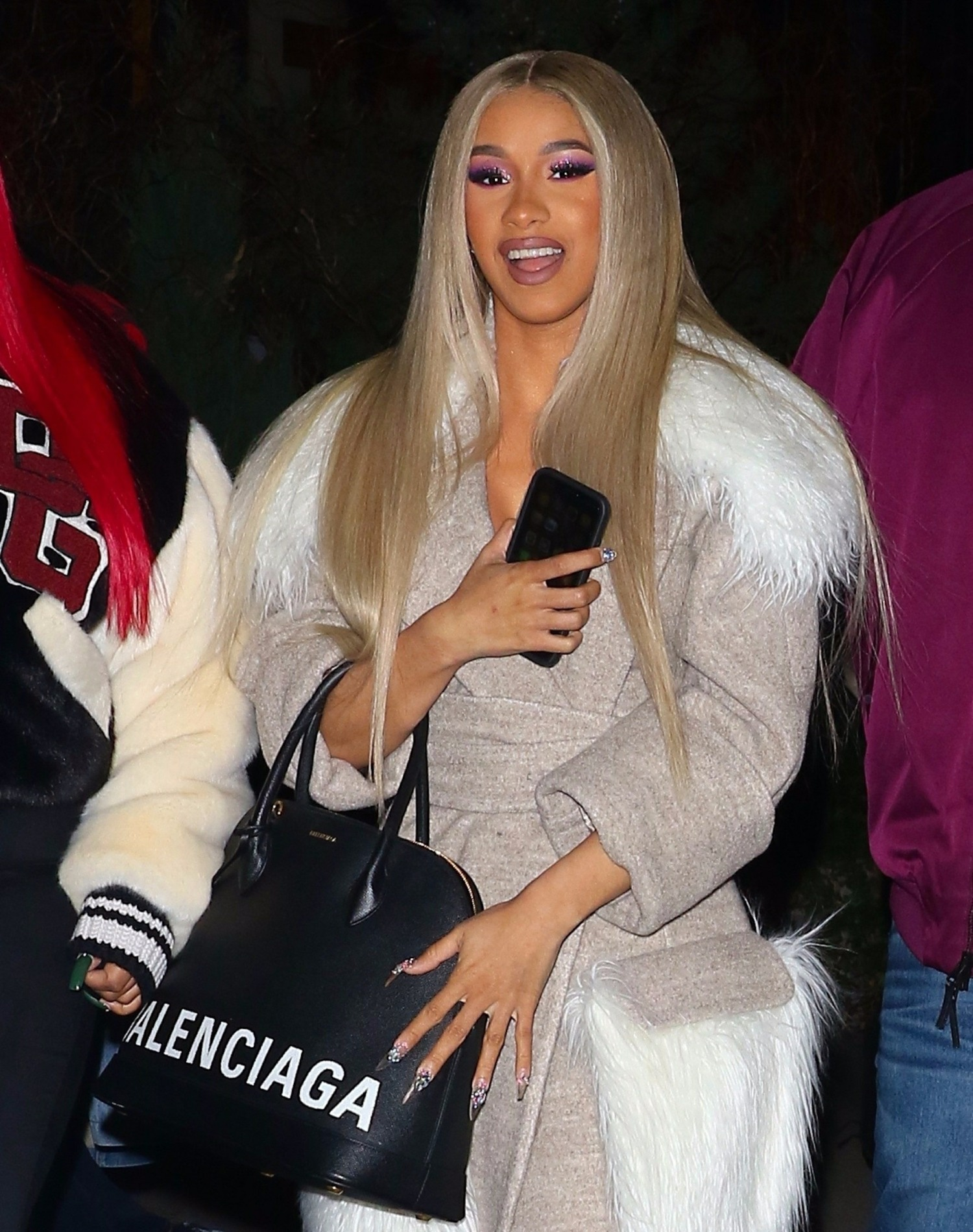 Cardi B attends Z100's Jingle Ball at Madison Square Garden