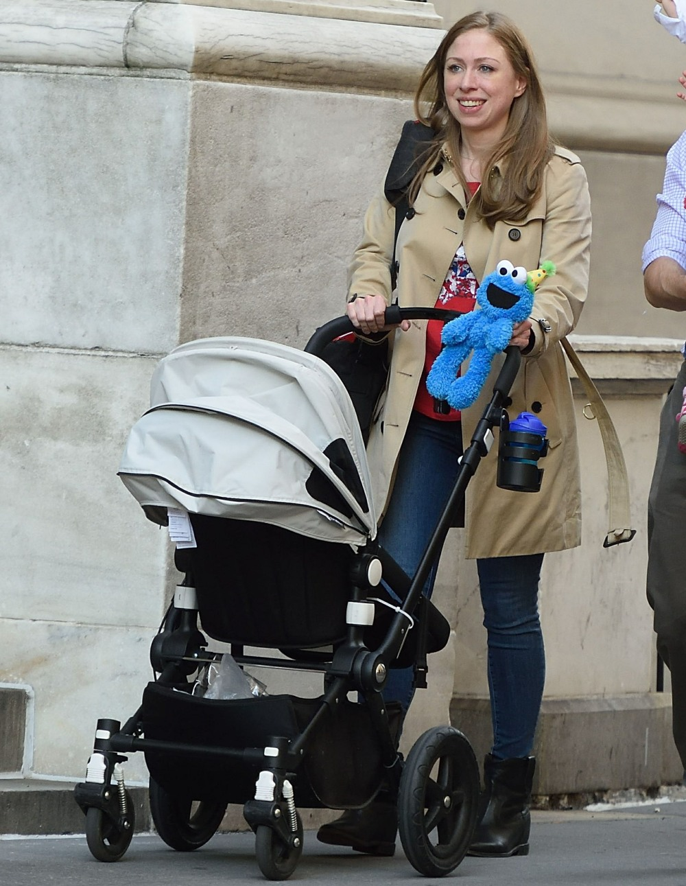 Baby on board! Chelsea Clinton Is Pregnant With Baby No. 3 **FILE PHOTOS**
