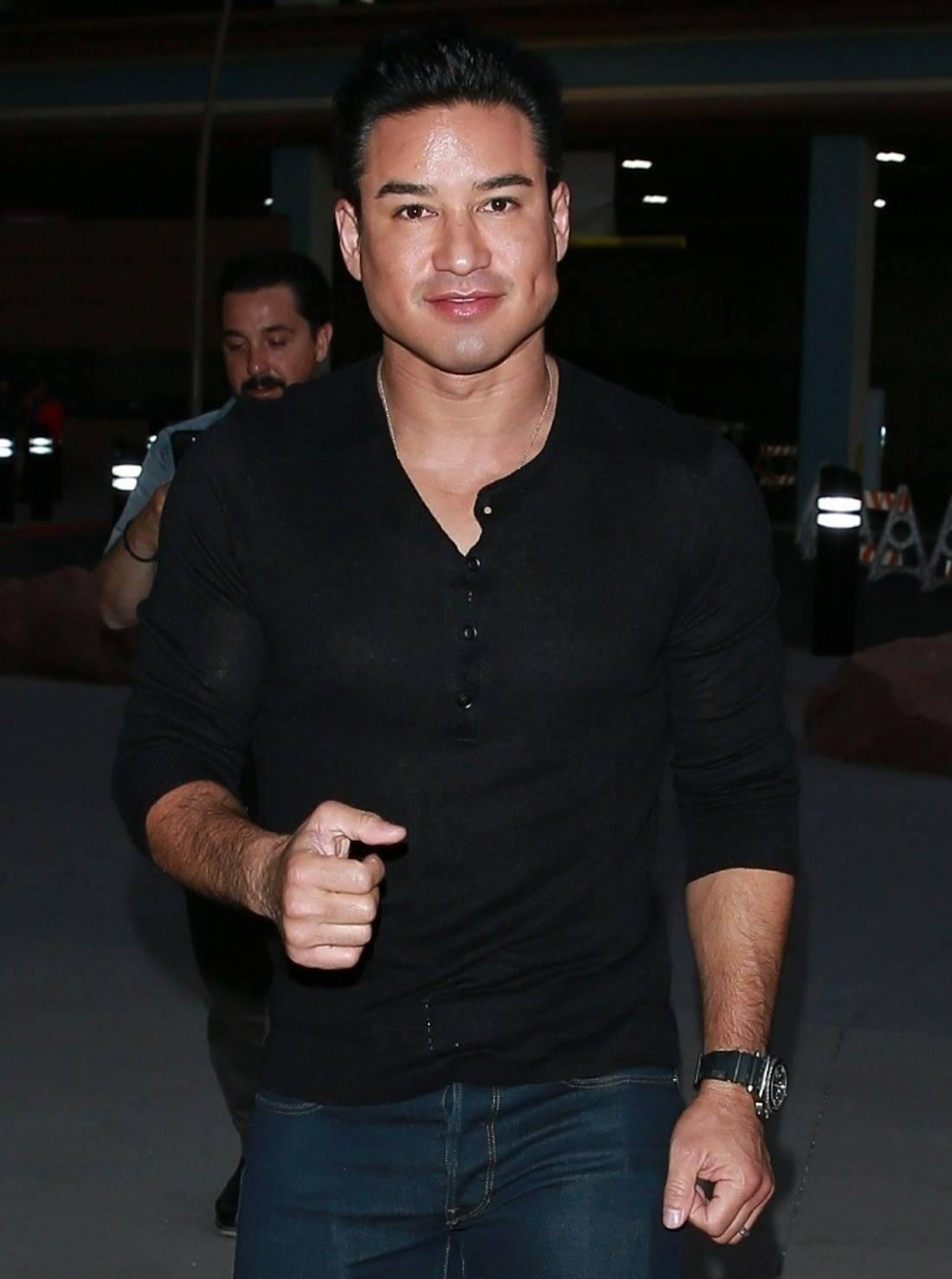 Mario Lopez is ready for the Alvarez vs. Jacobs fight in Las Vegas!