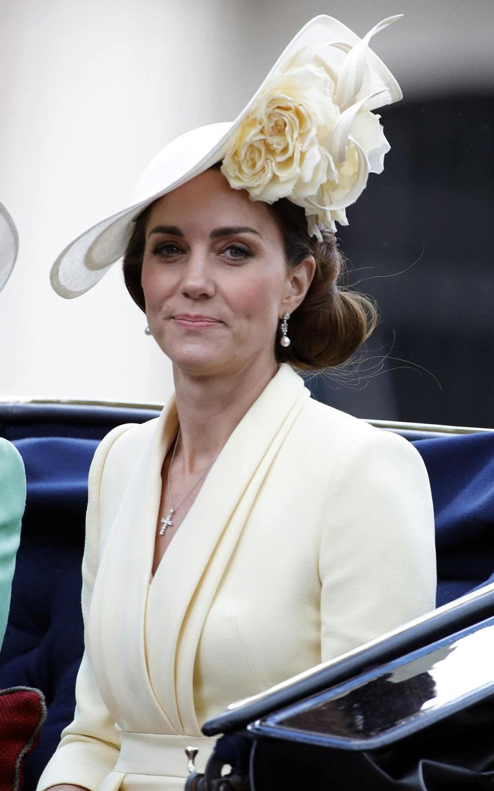 Royals are seen at Trooping The Colour 2019