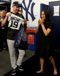 Prince Harry and Meghan Markle watch the Red Sox vs Yankees game