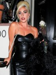 Lady Gaga looked glamorous as she flaunted her typical campy attire while at her Haus Laboratories party!