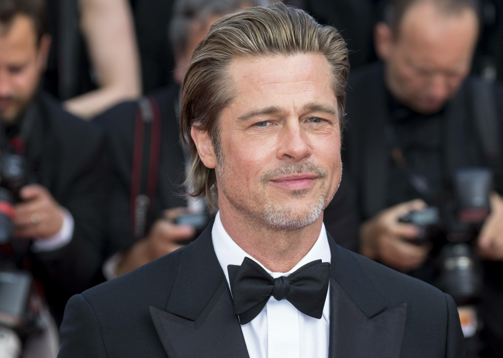 Brad Pitt attends the premiere of  'Once Upon A Time In Hollywood' during the 72nd Cannes Film Festival at Palais des Festivals  in Cannes, France, on 21 May 2019. | usage worldwide