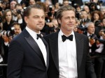 Leonardo DiCaprio and Brad Pitt attending the 'Once Upon a Time in Hollywood' premiere during the 72nd Cannes Film Festival at the Palais des Festivals on May 21, 2019 in Cannes, France | usage worldwide
