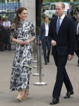 The Duke and Duchess of Cambridge at Chelsea Flower Show