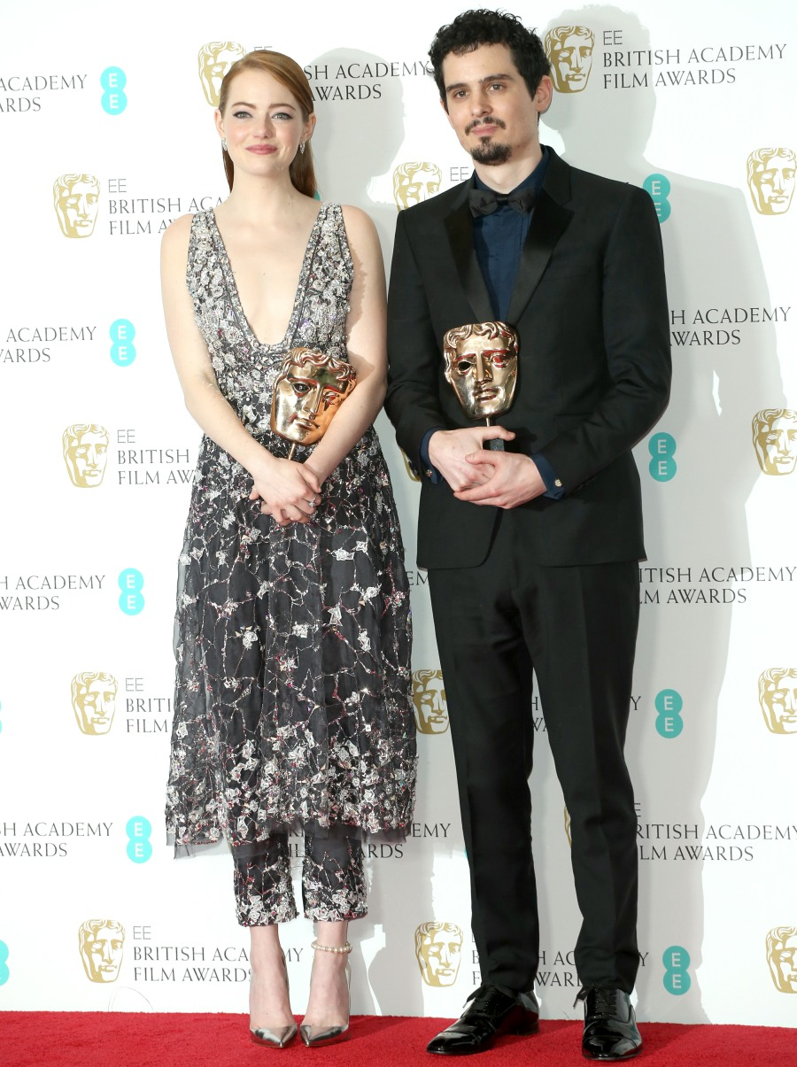 2017 BAFTA Awards - Winners' Room