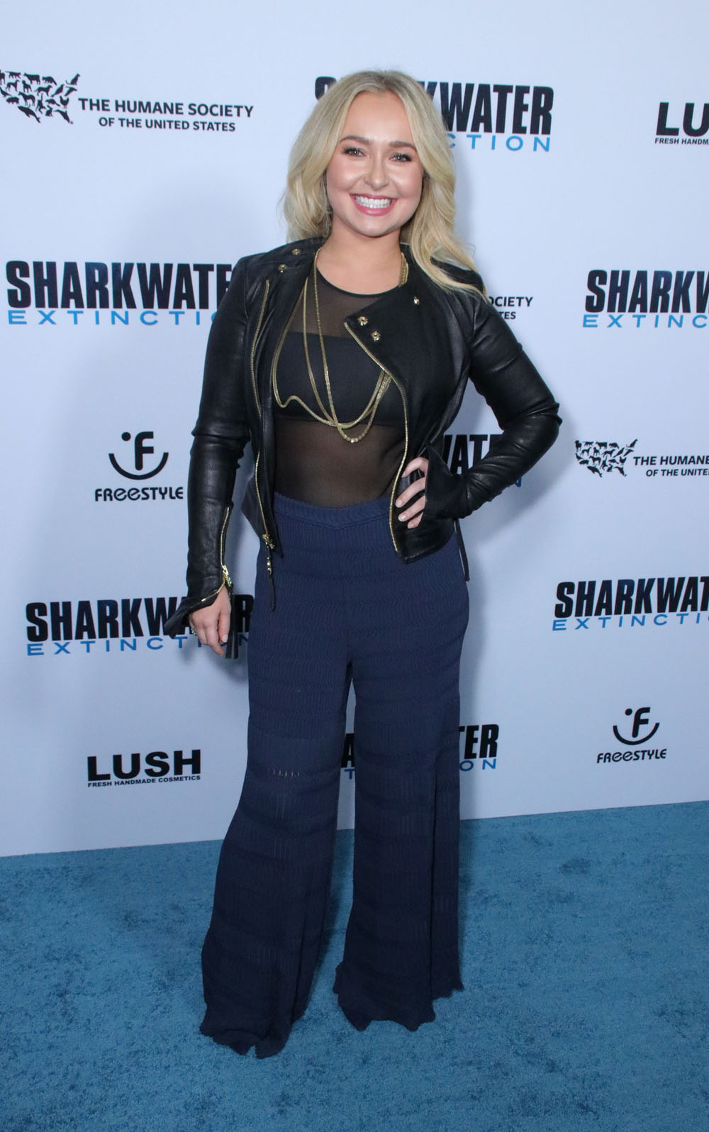 Hayden Panettiere at the 'Sharkwater Extinction' LA Premiere