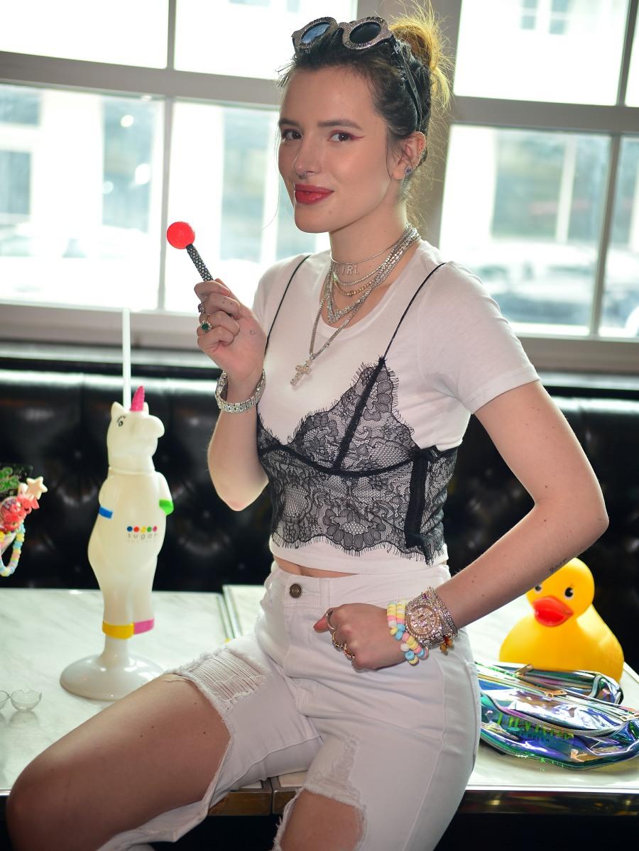 Bella Thorne meet and greet in Miami Beach
