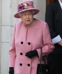 Queen Elizabeth II and Catherine, Duchess of Cambridge visit King's College London to open Bush House