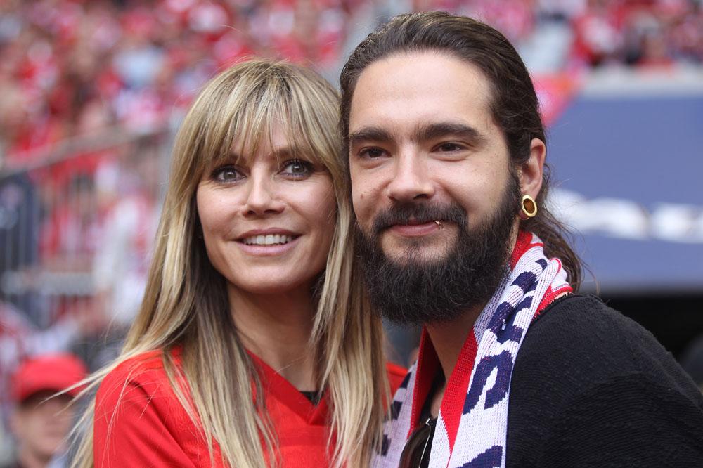 Muenchen, Fashion Model Heidi KLUM, Singer and Band leader Tom KAULITZ,