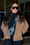 Rihanna looks rocks a chic look for a trip to the dentist in New York City