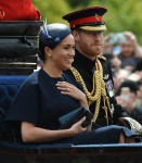 Meghan, Duchess of Sussex and Prince Harry attend the Trooping The Colour in London!
