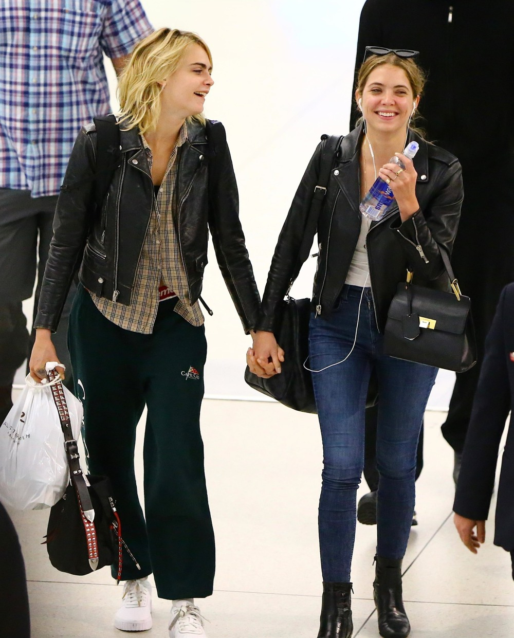 Newly Weds Alert! Cara Delevingne marries girlfriend Ashley Benson with a secret ceremony in Las Vegas**FILE PHOTOS**