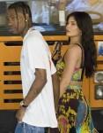 Kylie Jenner and Travis Scott walking in Capri ahead of a dinner date!