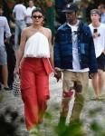 Kylie Jenner and Travis Scott go shopping in Portofino