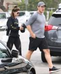 Chris Pratt and Katherine Schwarzenegger meet up for morning Yoga class
