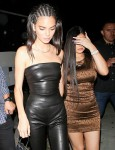 Kendall Jenner and Kylie Jenner make a stylish entrance at The Nice Guy in West Hollywood