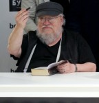 Game of Thrones author George R.R. Martin meets with readers