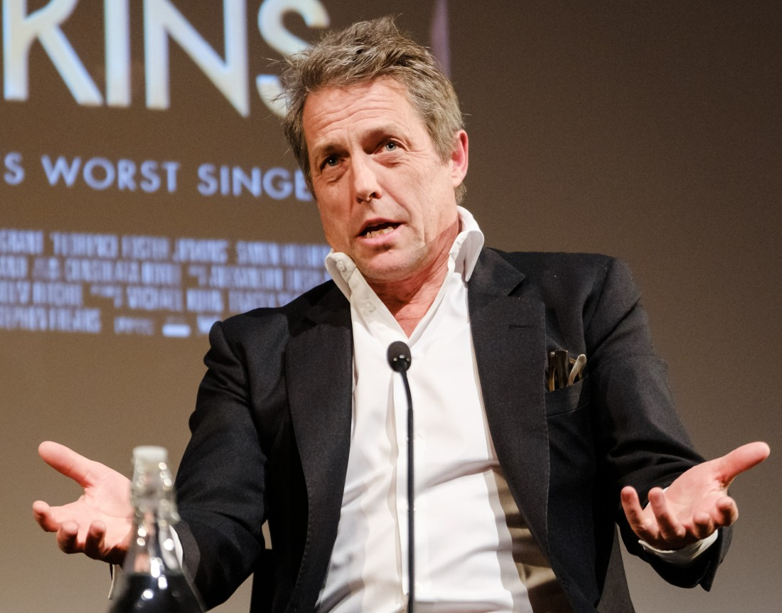 Actor Hugh Grant at Mark Kermode Live in 3D